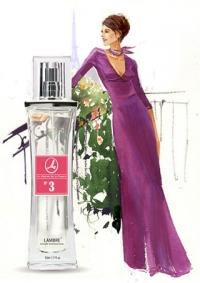 Lambre №3 созвучен Lady Million от Paco Rabanne